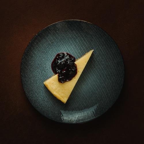 Plantaardige cheesecake